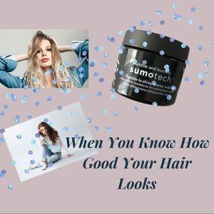 SUMOTECH HAIR PASTE TEXTURIZING CREAM WAX B&B